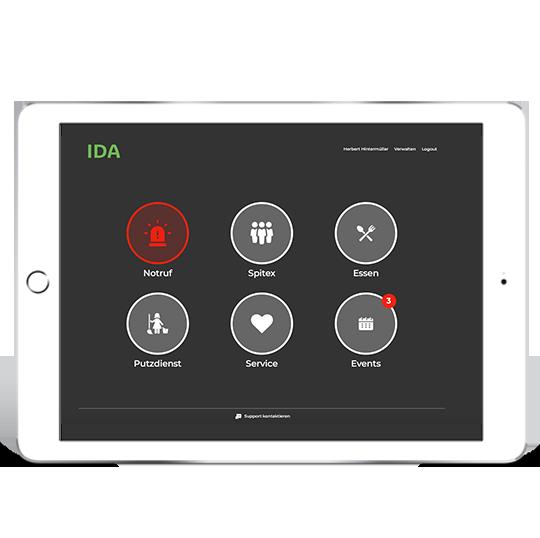 ida-assistentin-tablet-notrufssystem